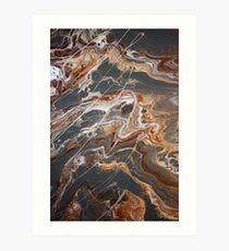 Earth's Crust Art Print