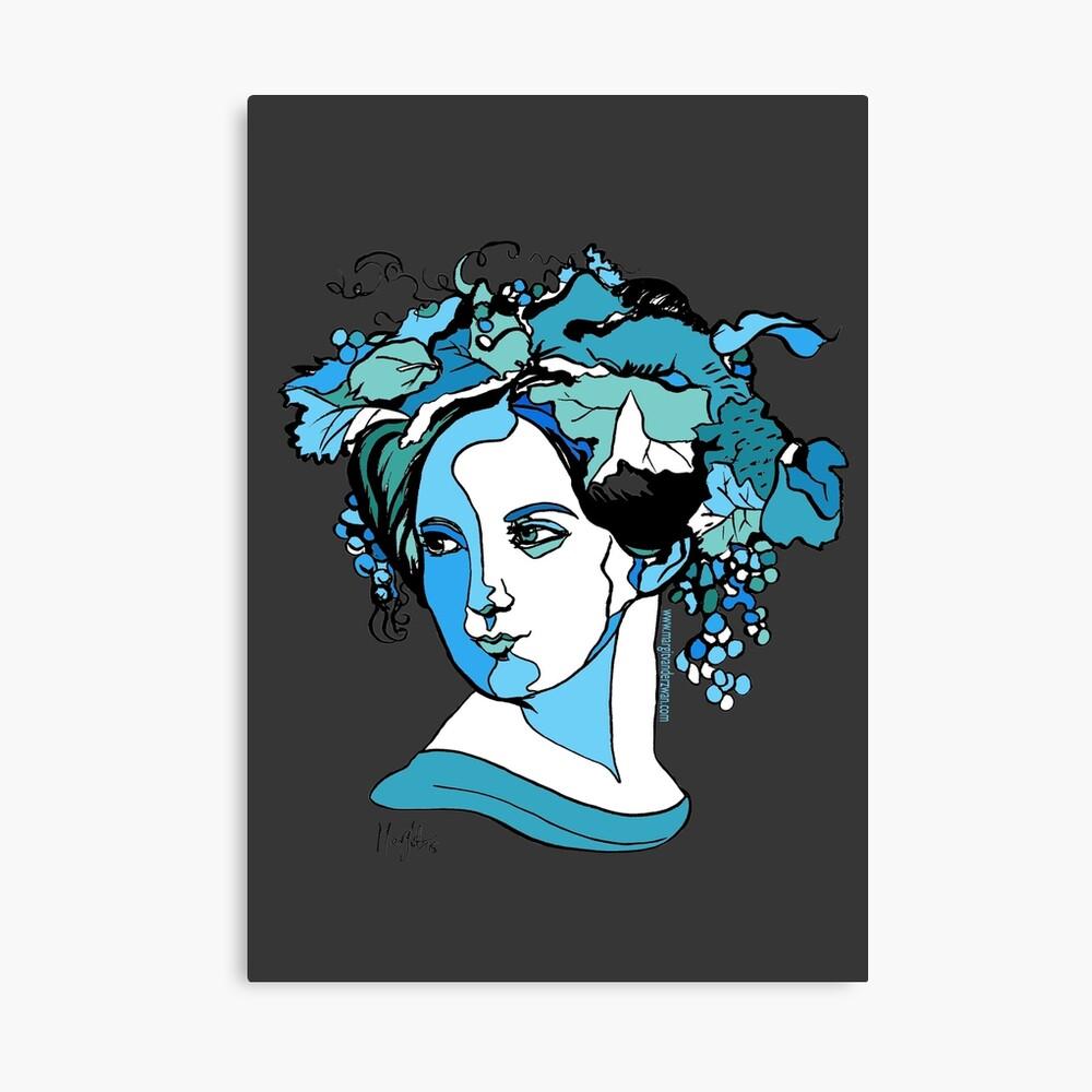 Komponist Fanny Mendelssohn Leinwanddruck