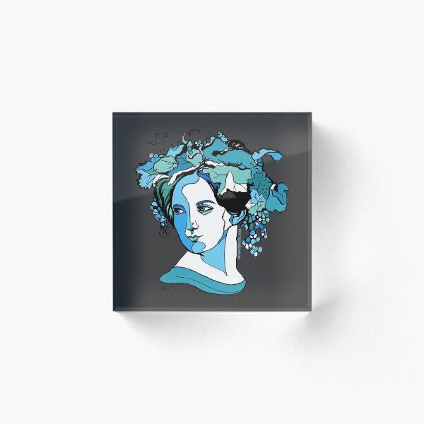 Fanny Mendelssohn Composer  Acrylic Block