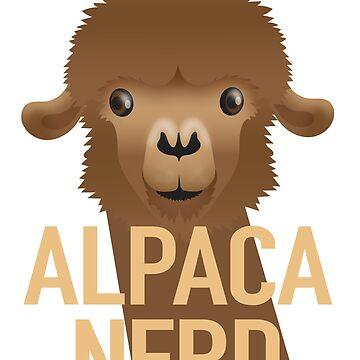 Alpaca Nerd (Expert about Alpacas) by jazzydevil