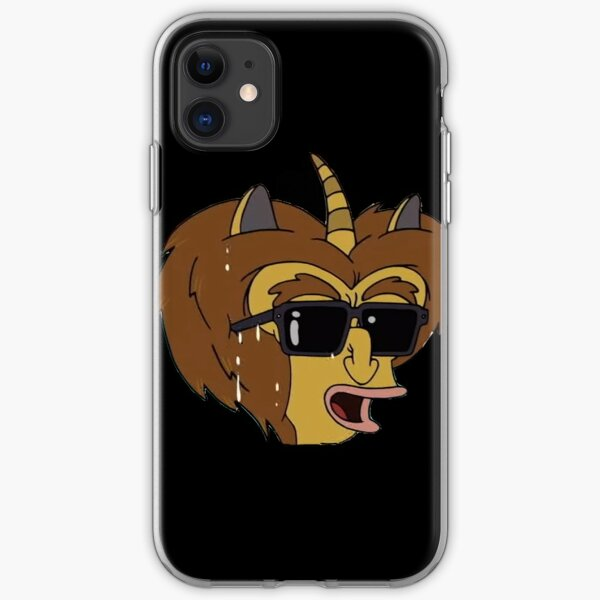 Mory - Big Mouth Sticker iPhone Soft Case