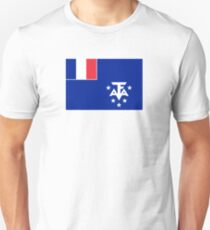 Flag of French Southern and Antarctic Lands T-Shirt
