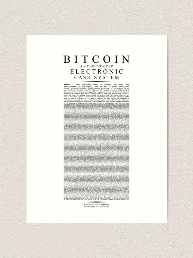 bitcoin satoshi nakamoto papír milyen bitcoin kereskedelem