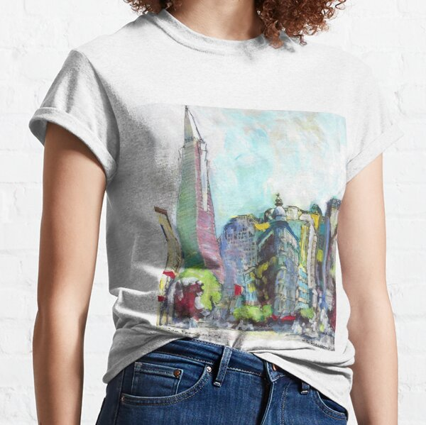 The Streets of San Francisco California Classic T-Shirt