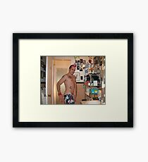 skinhead Framed Art Print