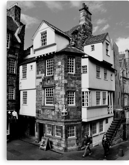 John Knox House, Edinburgh.  by Finbarr Reilly