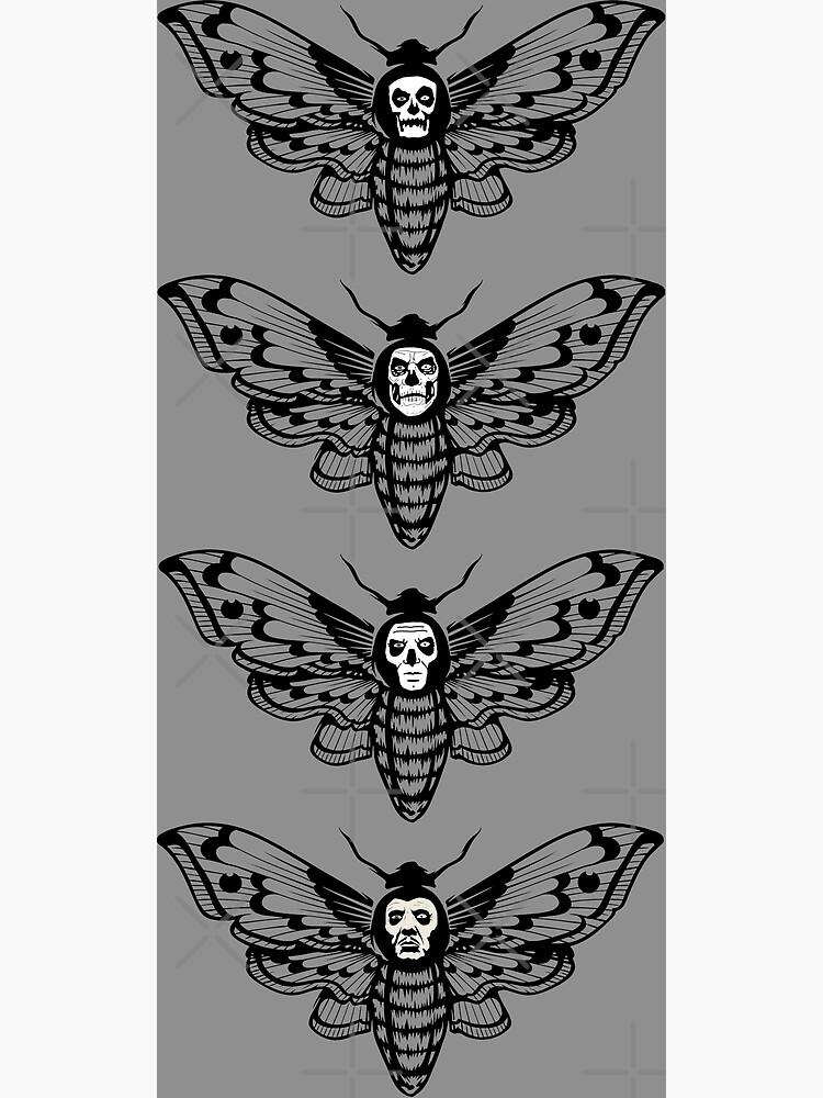 Ghost Death Head Moth by ninthstreet