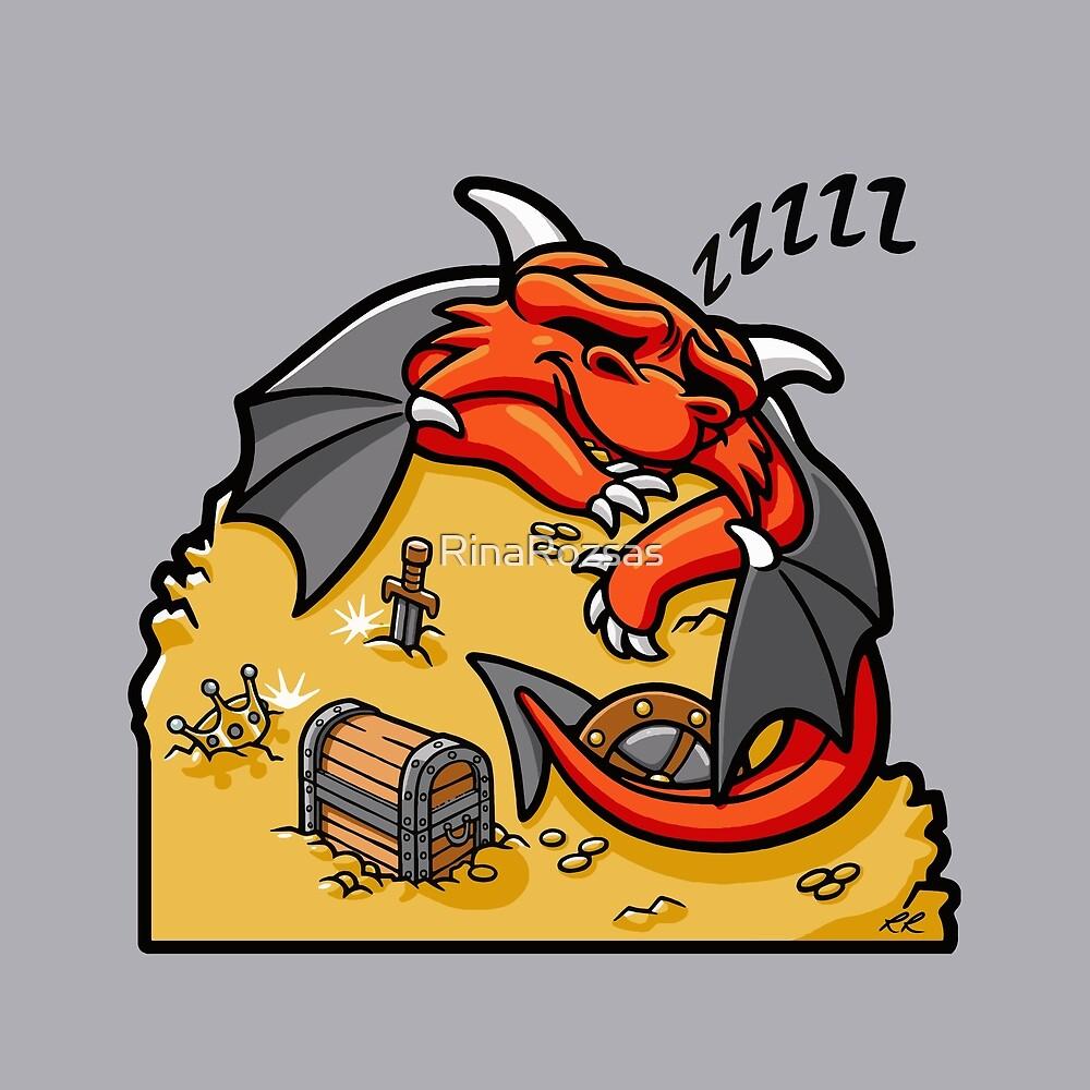 Sleeping Dragon by RinaRozsas