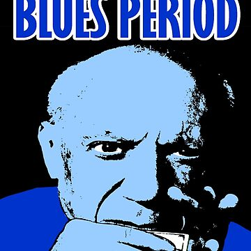 Picasso's Blues Period by digitaldog
