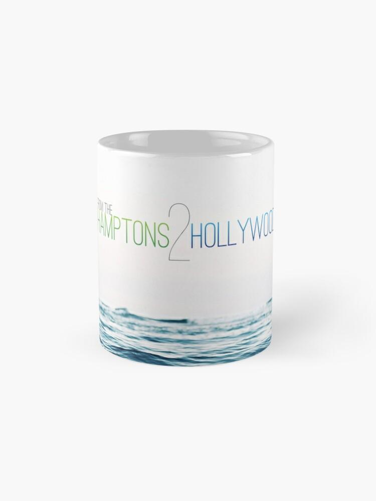 Alternate view of Hamptons to Hollywood's Small Waves Mug