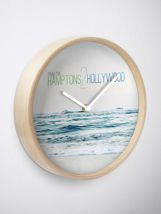 Alternate view of Hamptons to Hollywood's Small Waves Clock