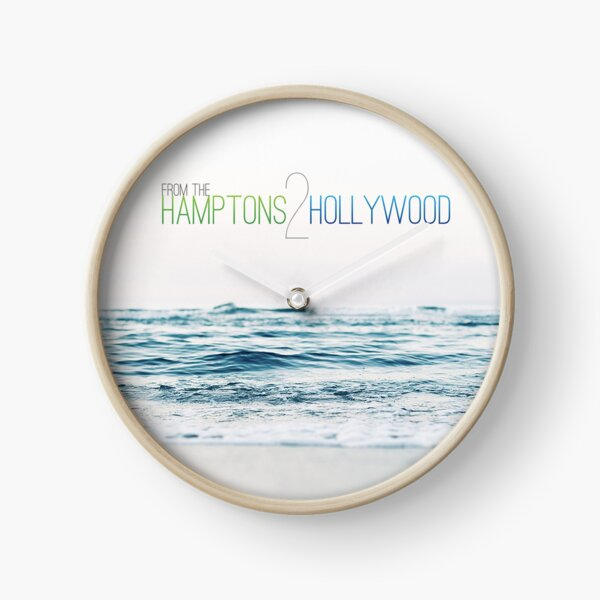 Hamptons to Hollywood's Small Waves Clock