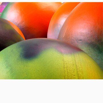 Psycho bubble balls by detipograf