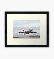 Qantas A 380 Nancy Bird Walton At Avalon Airshow 2009 Framed Print