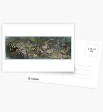Fairies in the Water Lilies - Richard Doyle Postcards