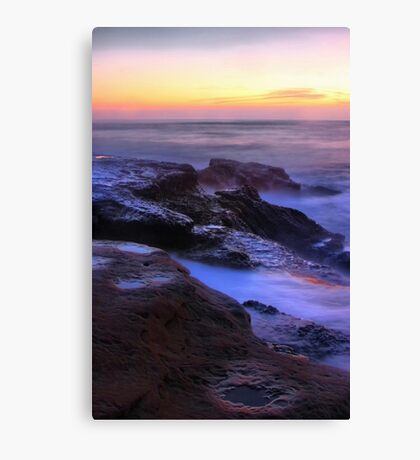 Misty Blues Canvas Print