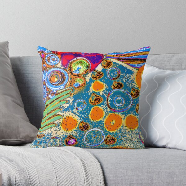 Valparaiso 183 by Hypersphere Throw Pillow