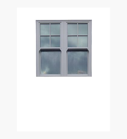 Gray Windows Photographic Print