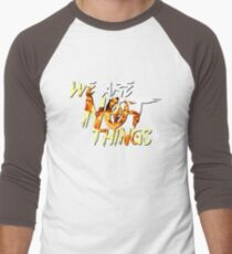 We Are Not Things Men's Baseball ¾ T-Shirt
