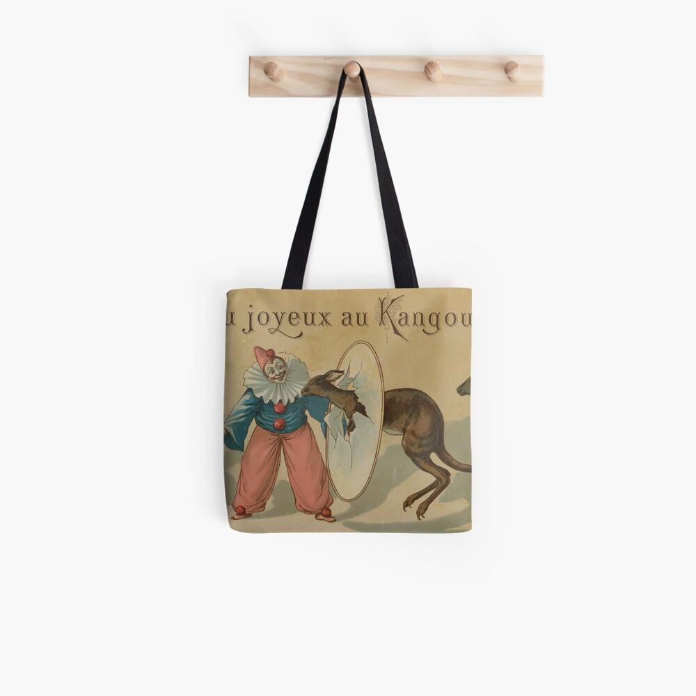 Jeu joyeux au kangourou, circa 1880 Tote Bag