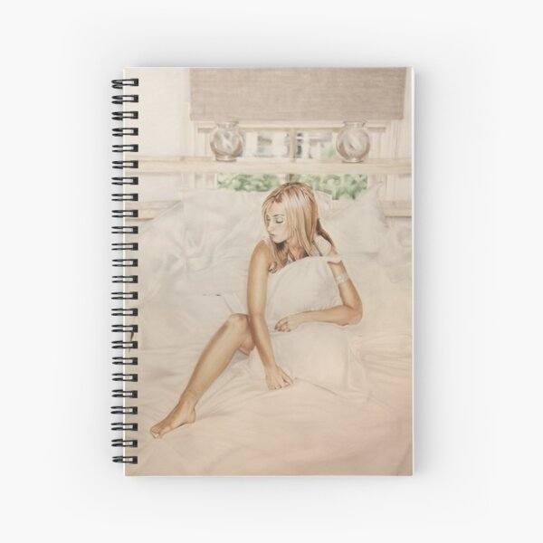 Airbrush Portrait - Louise Redknapp Spiral Notebook