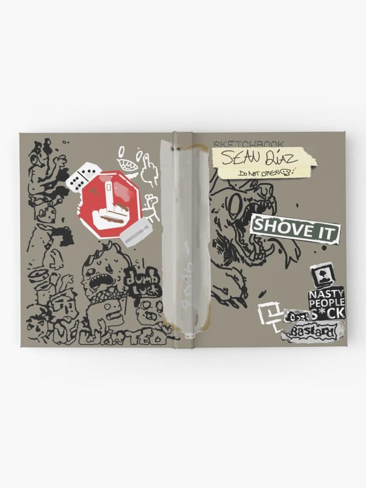 Alternate view of Sean's Sketchbook ( Life is Strange 2 ) Hardcover Journal