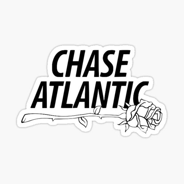chase atlantic logo rose Sticker