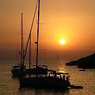 Sundown, Ibiza by Alex Bonner