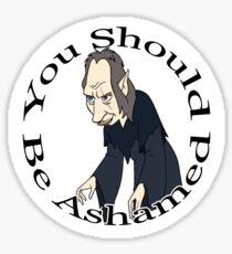 Shame Wizard  Sticker