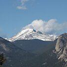Rocky Mountains near Estes Park, Colorado by janetmarston