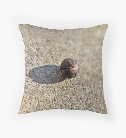 Pill Bug-In Hiding Throw Pillow