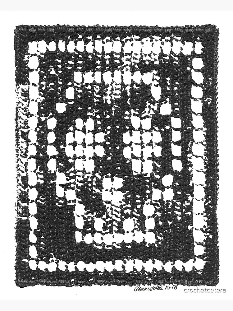 Crochet Impressions: SKULL by crochetcetera