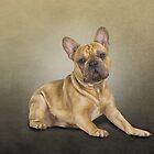 «Perro de dibujo bulldog francés» de bonidog