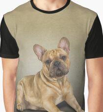 Drawing dog French Bulldog Graphic T-Shirt