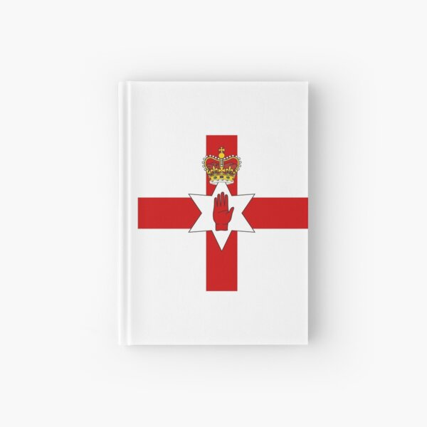 Ulster Banner (flag of Northern Ireland) Hardcover Journal