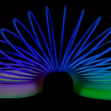 Glow Slinky by meltedxpopsicle