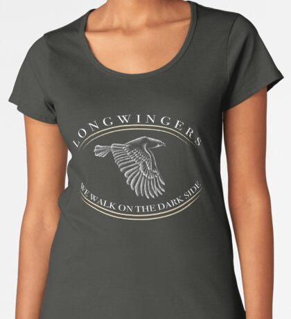 Longwinger Falconers - GIfts and Apparel for Longwingers - Falconry Supplies for Longwing Falconers Women's Premium T-Shirt