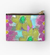 FLORAL MASHUP Zipper Pouch