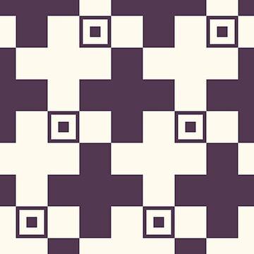 Assymetrical Cross Pattern by joshcartoonguy