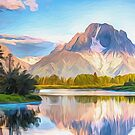 Mountian Lake by Walter Colvin