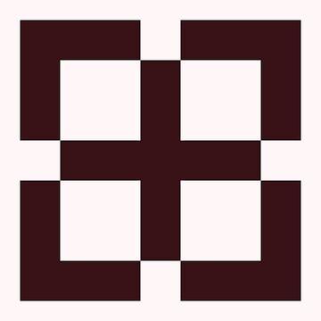 Simple Cross by joshcartoonguy