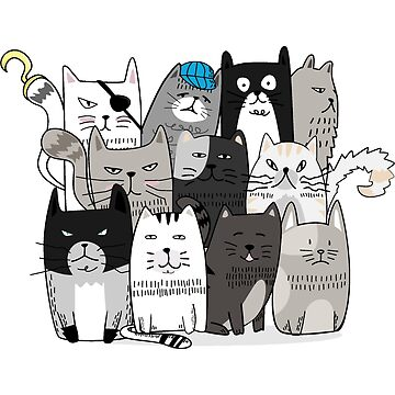 Cat Gang | Animals by mcaussieb