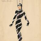 Afford costume designs: Morse code, 1935-1936 by State Library of South Australia