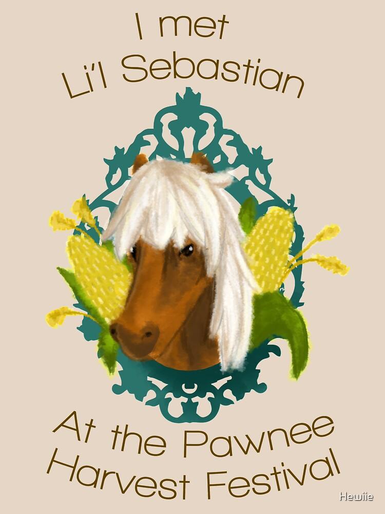 I met Li'l Sebastian at the Pawnee Harvest Festival | Women's T-Shirt