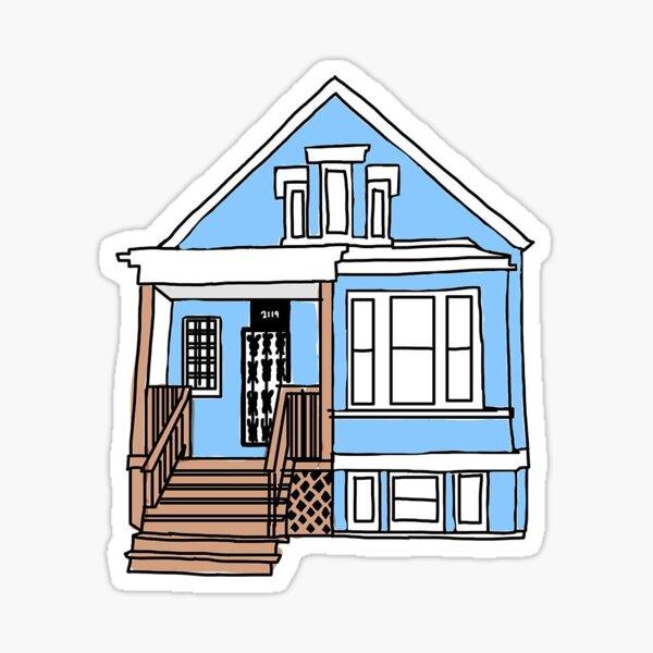 Gallagher House Sticker