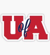 U of A - University of Arizona Sticker