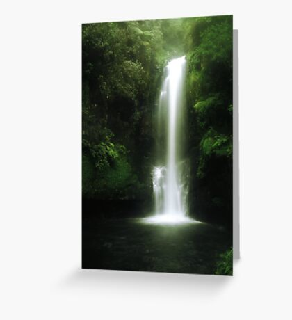 Kaiate falls Greeting Card