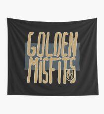Vegas Golden Knights (VGK Golden Misfits) Wall Tapestry