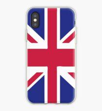 United Kingdom flag emblem iPhone Case