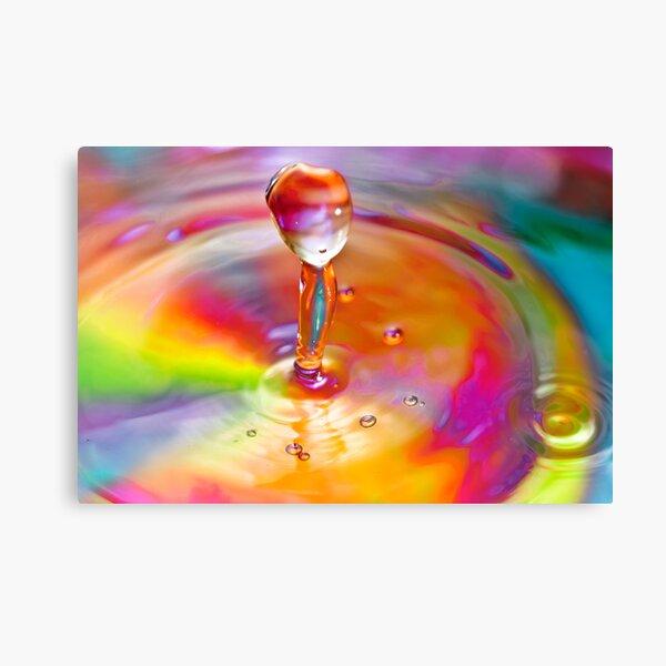 Drop of a rainbow Canvas Print
